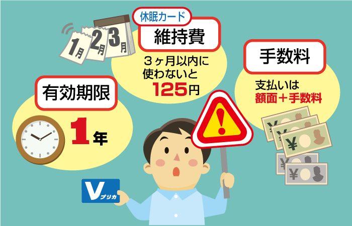 オンラインカジノのVプリカ入金の注意点