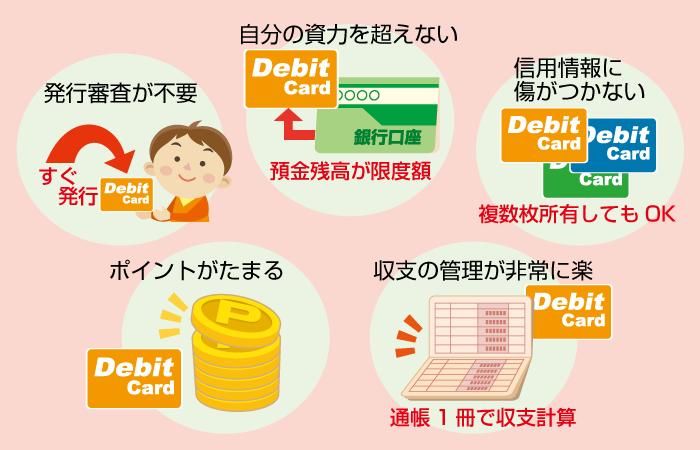 デビットカード入金のメリット